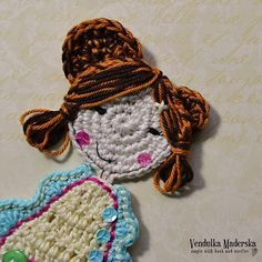Sweet girl applique