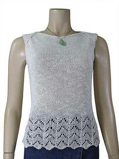 Sunny Day Tank Top Knit Pattern