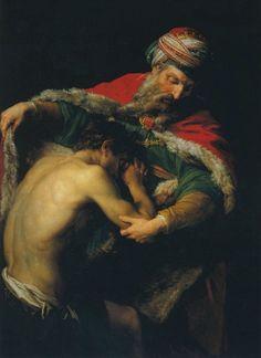 Batoni - The Return Of The Prodigal Son. 1773
