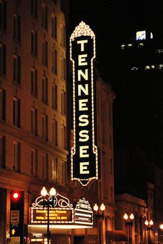 Tennessee Theater on Gay Street
