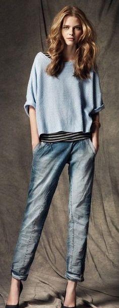 Rauchige Jeanstöne passen dem kühlen Farbtyp am besten! Kerstin Tomancok / Farb-, Typ-, Stil & Imageberatung