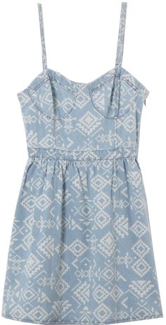 #chicnova                 #Clothing                 #Ethnic #Washed #Denim #Dress #with #Elastic #Waist                           Ethnic Washed Denim Dress with Elastic Waist                                  http://www.seapai.com/product.aspx?PID=4845680