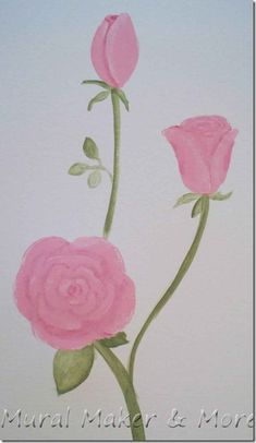 How to paint Roses - Just Paint It Blog