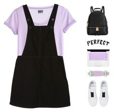"""""""what I do from here is none of your concern"""" by intanology ❤ liked on Polyvore featuring MTWTFSS Weekday, Monki, Pierre Hardy, Michael Kors and Retrò"""