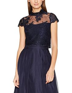 Coast Damen Slim Fit Bluse Gr. 34, blau (marineblau): - Blusen outfit blusen  kombinieren blusen sommer blusen frühling blusenshirt nähen hemd damen  blusen ...