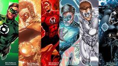 The different incarnations of Hal Jordan