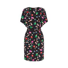 Warehouse, Geo Party Print Dress Multi 0