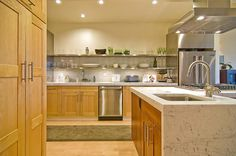 bianco gioia marblen countertops kitchen Marble Countertops, Kitchen Countertops, Kitchen Cabinets, Home Decor, Marble Counters, Decoration Home, Room Decor, Kitchen Base Cabinets, Dressers