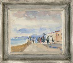 Landscapes - Set Of 4 Pastels 1911-1994 Jean Dryden Alexander