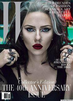 Scarlett Johansson covers W Magazine. I should probably just have a Scarlett Johansson board.
