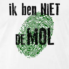 shirt - Ik ben NIET de Mol Company Logo, Logos, Logo, A Logo