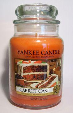 Yankee Candle CARROT CAKE 22 oz