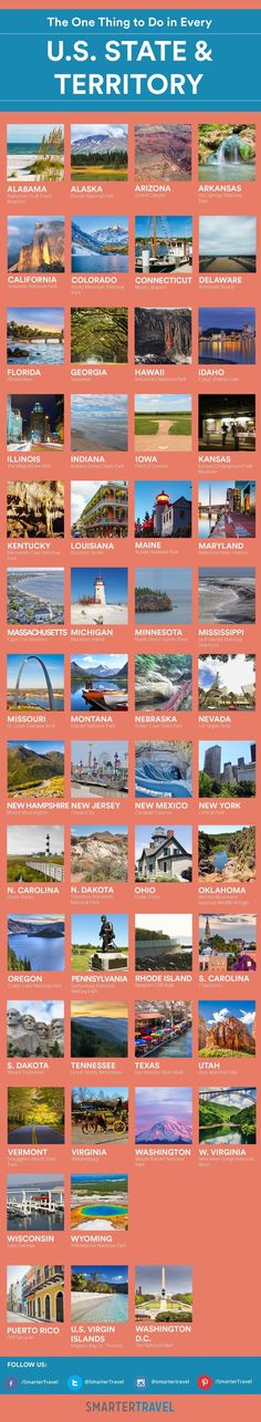 The One Thing You Should Do in Every U.S. State - SmarterTravel #topusplacestotravel