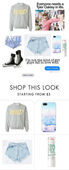 """""""Lazy morning"""" by amesic05 on Polyvore featuring Oakley, NOVA, Levi's and Converse"""