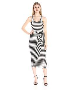 Amazon.com: Mara Hoffman Women's Stripe Dress: Clothing