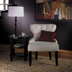 Ave Six Curves Hour Velvet Slipper Chair  Wayfair