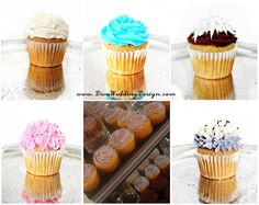 Cupcakes! We have displays as well! Check out our website- www.DivaWeddingDesign.com!