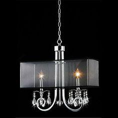 SUMNER - Deckenlampe aus Kristall mit 2 Glühbirnen: Amazon.de: Beleuchtung