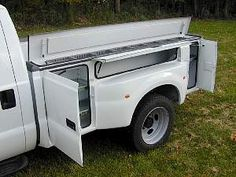 This works too. - Royal Sport Bed - more storage but looks a little better than a squared-off utility body. Many campers flare out at the back end, though, taking up the space behind the wheel wells. Farm Trucks, Cool Trucks, Big Trucks, Chevy Trucks, Pickup Trucks, Cool Cars, Custom Truck Beds, Custom Trucks, Truck Bed Accessories