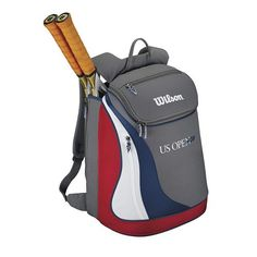 Sporting Goods at Kohl's - Shop our wide selection of tennis accessories, including this Wilson US Open Backpack, at Kohl's. Tennis Bags, Tennis Gear, Sport Tennis, Golf Bags, Best Tennis Rackets, Racquet Sports, Tennis Equipment, No Equipment Workout, Tennis Accessories
