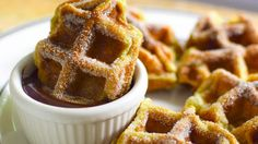 Doesn't this look delicious? The incredibly versatile waffle iron can turn batter into churros--saving you the hassle of deep-frying the dough in a pot of oil.