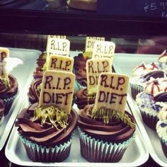 diet killing cupcakes for halloween