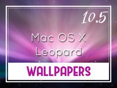 Mac Os, Leopard Wallpaper, Desktop Wallpapers, Backgrounds, Blog, Desktop Backgrounds, Blogging, Backdrops, Wallpapers