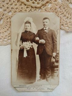 see the scanned photos attached. Queen Victoria, Rare Antique, Wedding Couples, Little Boys, Bride Groom, Wedding Cards, Portrait, Antiques, Painting