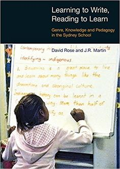 Learning to Write/Reading to Learn: Genre, Knowledge and Pedagogy in the Sydney School: Scaffolding Democracy in Literacy Classrooms (Equinox Textbooks & Surveys in Linguistics): Amazon.co.uk: David Rose, J.R. Martin: 9781845531447: Books