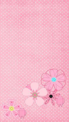 DroidBabyGirl Lady Lola Pink1 Wallpaper.