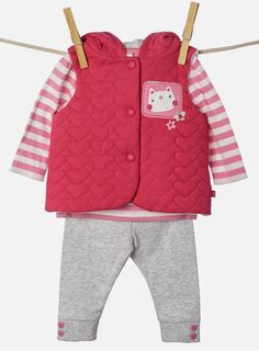 Emily Kiddy: BHS - Baby Girls Cat Layette Range