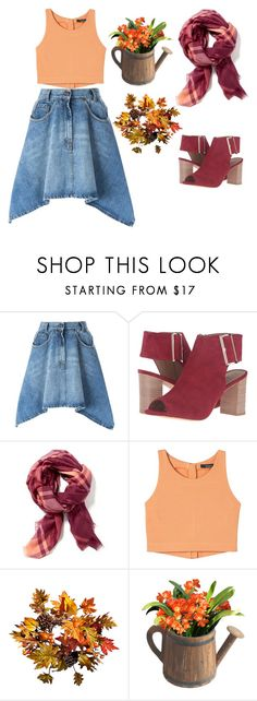 """""""Untitled #3122"""" by doinacrazy ❤ liked on Polyvore featuring Moschino, VANELi, Old Navy and Improvements"""