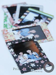 DIY Polaroid Frame | onelmon