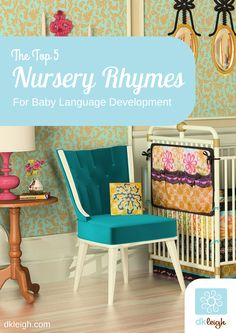 Nursery rhymes are great for baby language development. Here are some of our favourites!