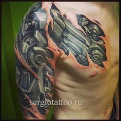 001-Biomechanical-Tattoo-Sergey Voynoff
