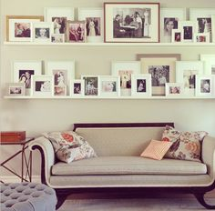 double photo wall by Jenny Komeda