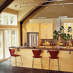 Sturgeon Bay, Wisconsin, kitchen | Coastalliving.com