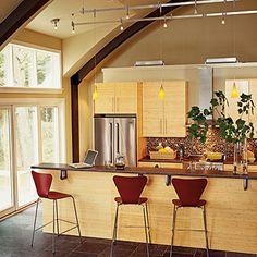 Sturgeon Bay, Wisconsin, kitchen | Coastalliving.com
