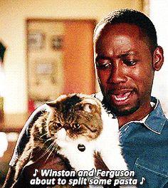 Best Winston GIFs / new girl