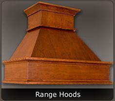 Custom Wood Range Hoods