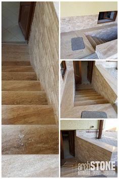 Trepte Travertin Romanesc Scapitate Marmura Breccia Sarda