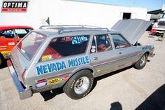 1978 Dodge Aspen station wagon Nevada Missle #NHRA