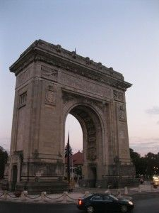 The Arch of Triumph - Bucharest, Romania