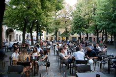 "Piazza Fontanesi - ""Reggio Emilia. Full city guide to my new favorite Italian"" by @helleskitchen"