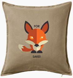Fox Lover Gifts, Fox Humor Pillow Calling My Name