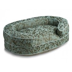 Pretty! Cherries Oval Bolster Dog Bed