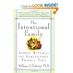 This is a great book if you are looking for ideas on how to connect with your kids or just become closer as a family.