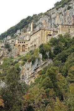 Lazio - Monastero benedettino di Subiaco (RM)   #TuscanyAgriturismoGiratola