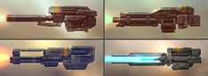 QR Weapons 01 by Talros on deviantART