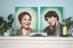 #Harold and maude #painting